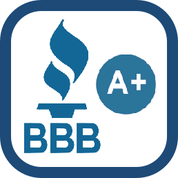 Press to go to BBB website and see our rating
